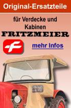 Heckscheibe oben für Fritzmeier Spezialkabine FK